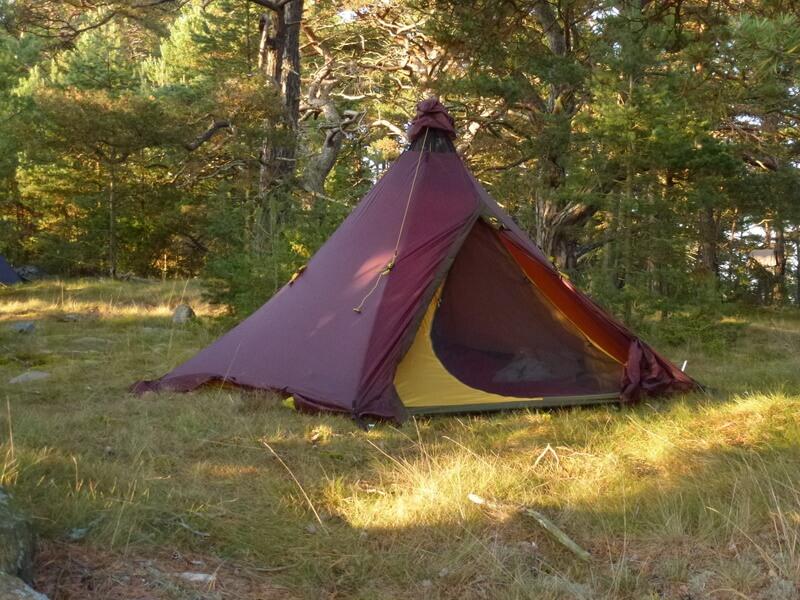 The Ultra Light Tentipi Prototype Tent