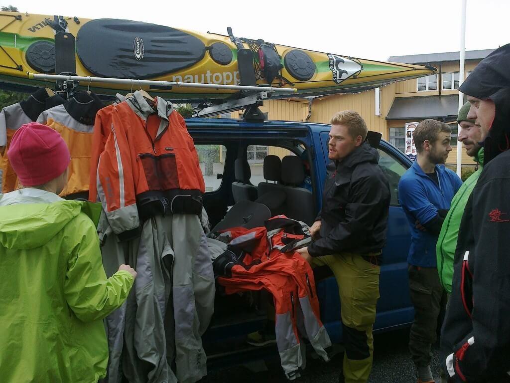 Kit issue, Peak UK Creek Drysuits