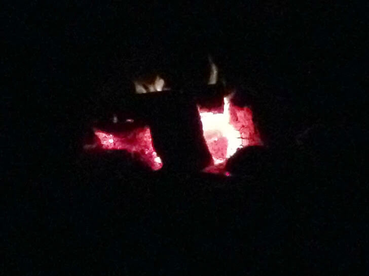 Campfire in the Dark