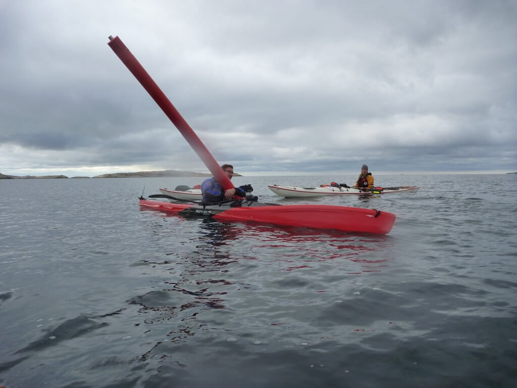 Enjoying the slow tides in Sweden Sea Kayaking
