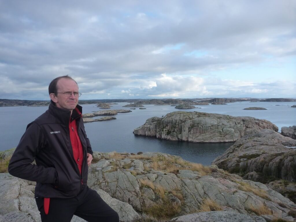 Enjoying a view over the Fallback Archipelago