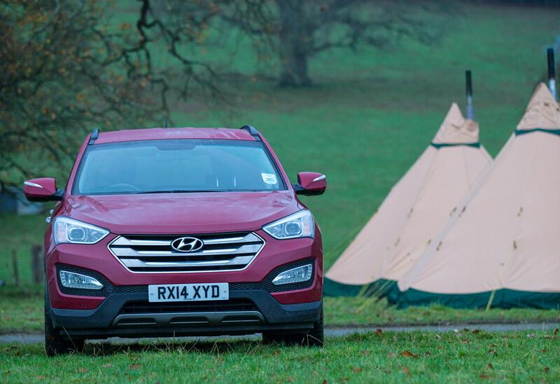 Hyundai Car and A Tentipi Tent