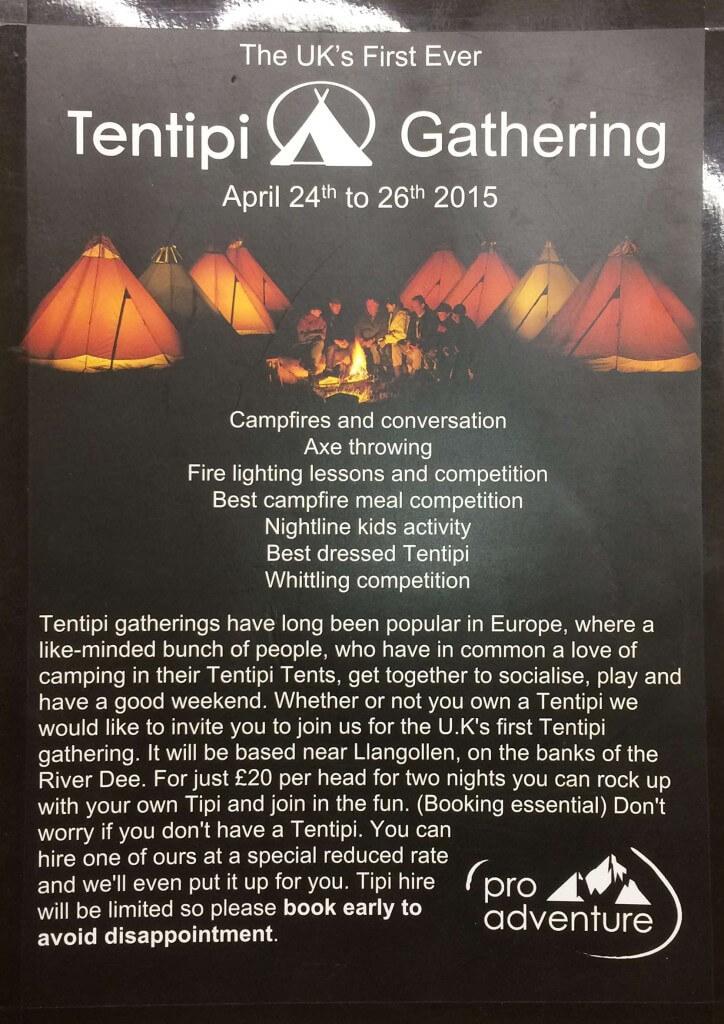 Tentipi Camp Flyer 2015
