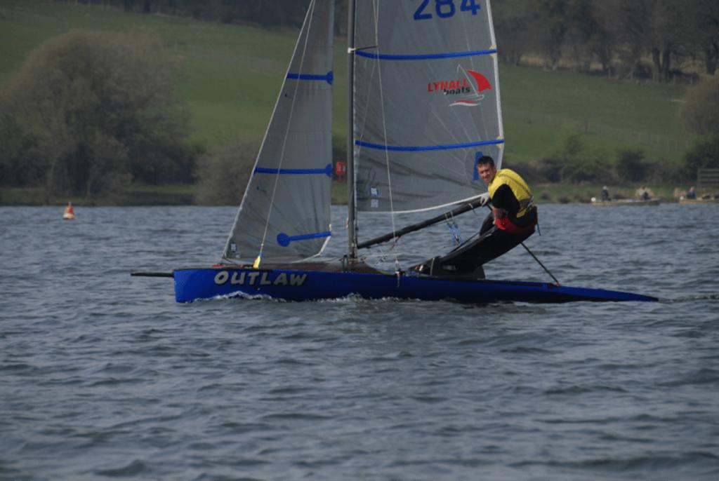 International 10 square metre sailing canoe