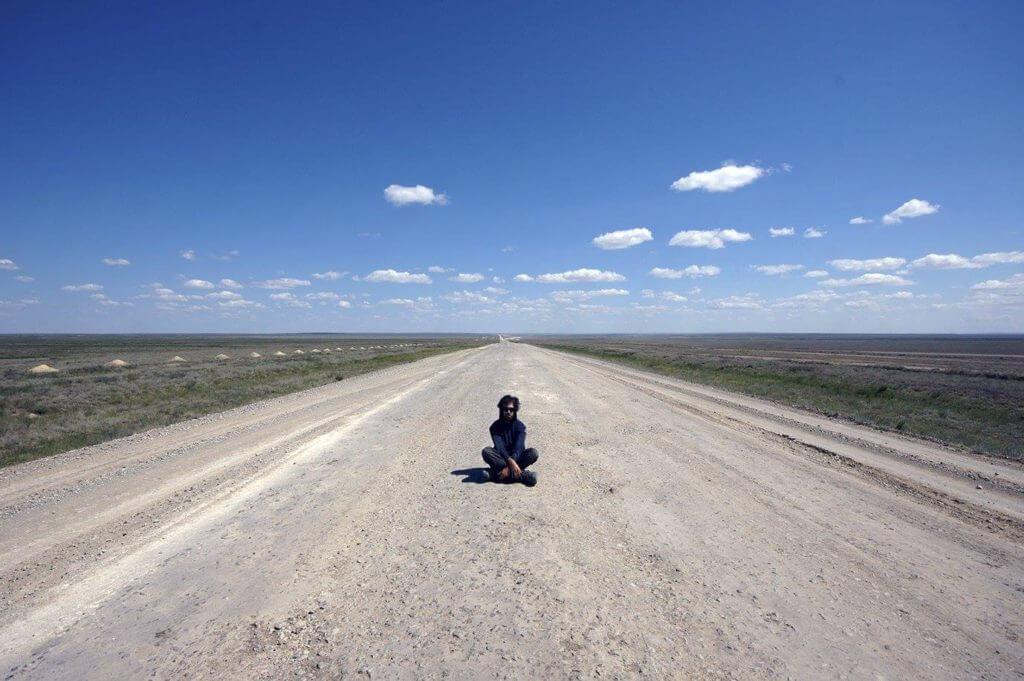 The Border Walk in Kazakstan
