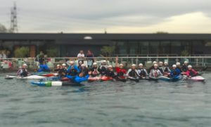 Team Wales at Lee Valley in North London