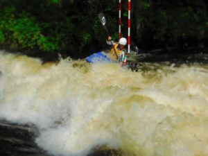 Racing on the mighty Tryweryn