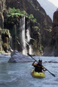 Iran River Waterfall Zeros Mountain