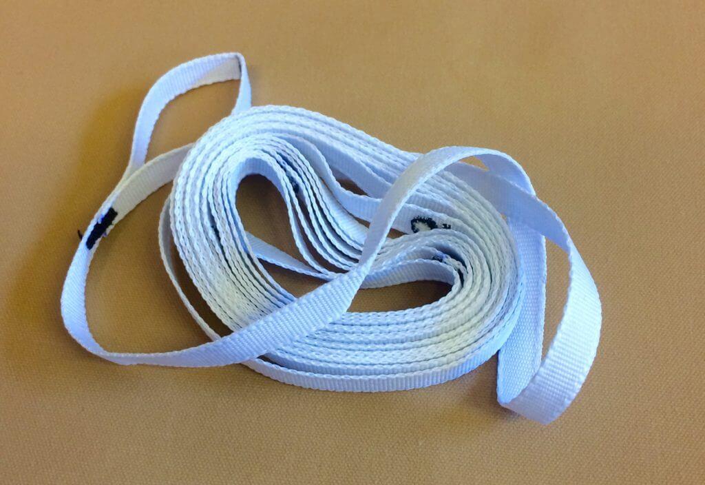 Tentipi measuring ribbon