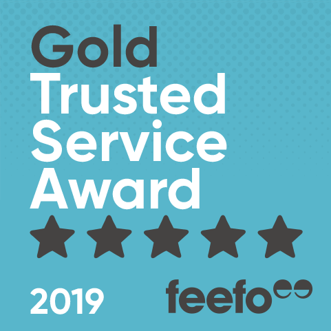 Feefo Gold Trusted Service Award 2019 ProAdventure