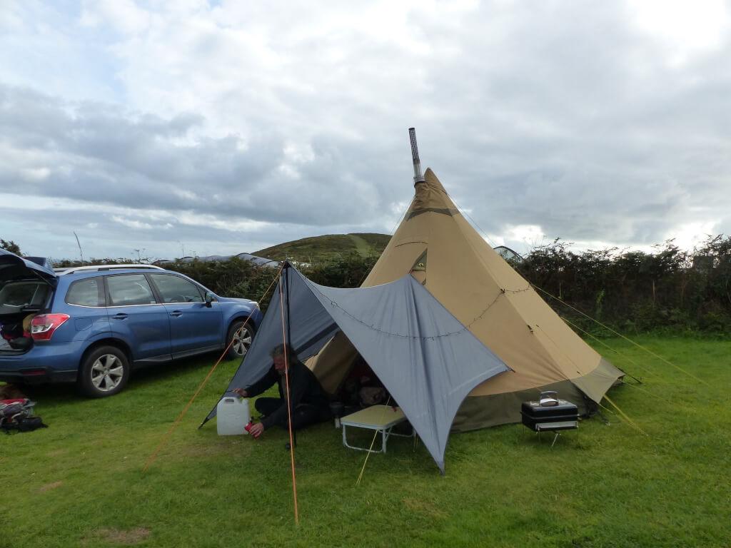 Mynydd Mawr Camp Site