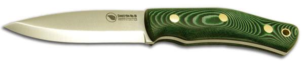 Casstrom No 10 Green Micarta Bushcraft Knife