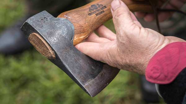 The Gransfors Bruks Hand Hatchet - Great for roughing out spoons