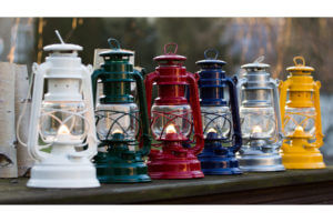 Choose from the Feuerhand Baby Lantern colour range for fathers day