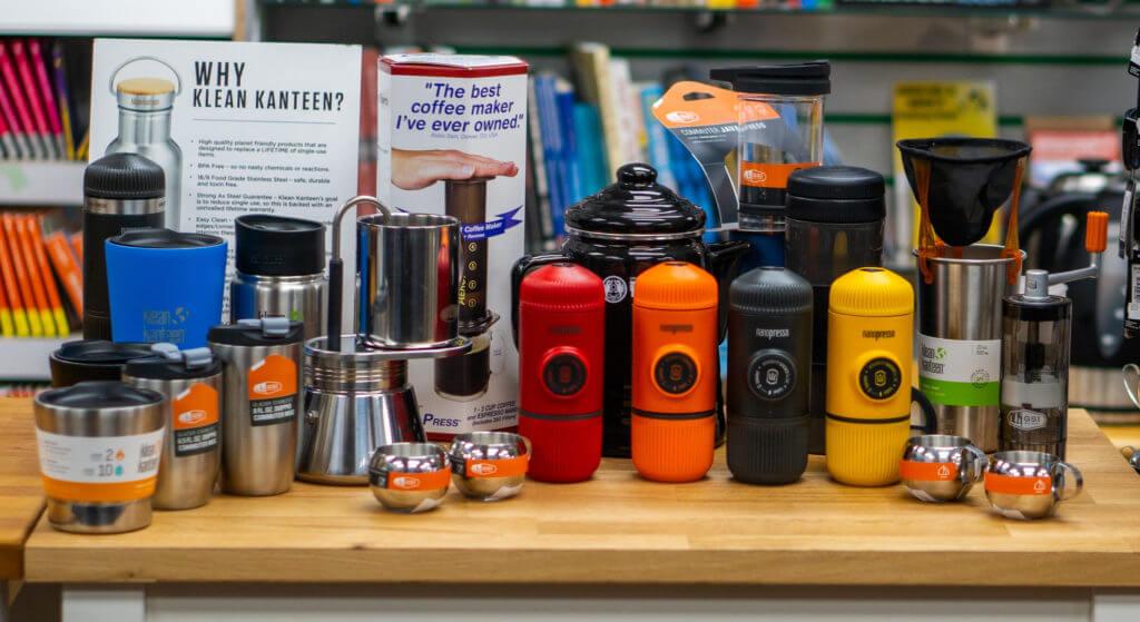 coffee and nanopresso