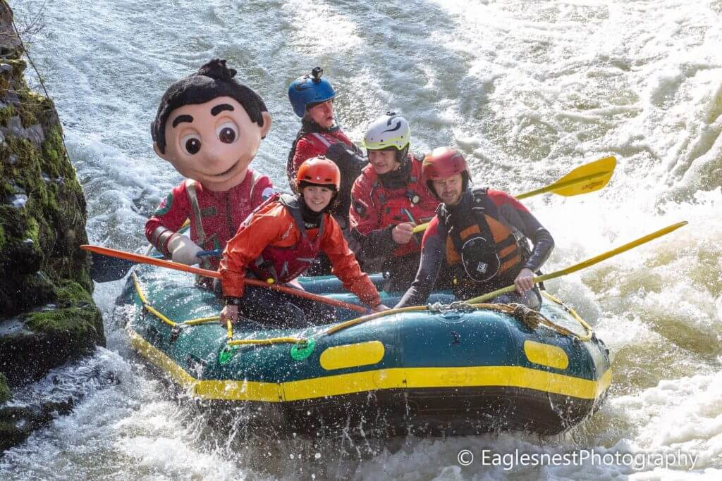 Rafting image courtesy of  Eagles Nest Photography