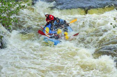 White Water Rafting on the River Dee in North Wales