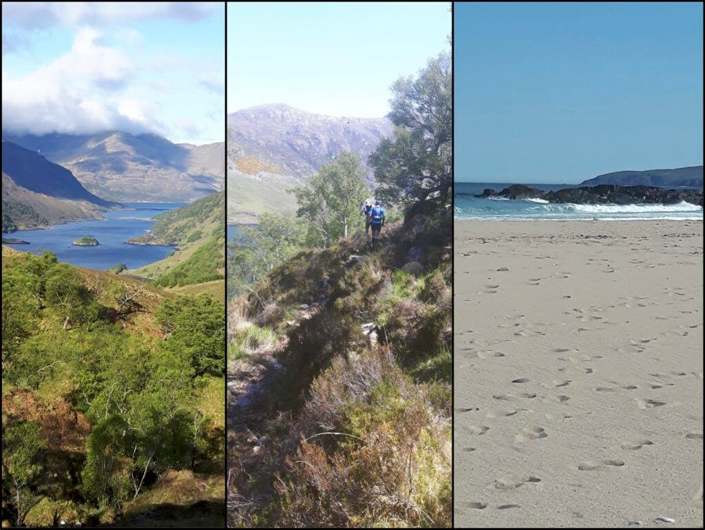Scenes from the Cape Wrath Ultra by Irene Evison
