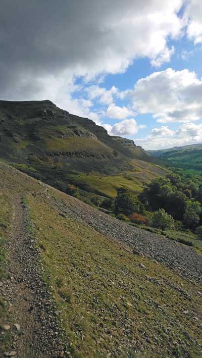Offas Dyke Path Above Llangollen