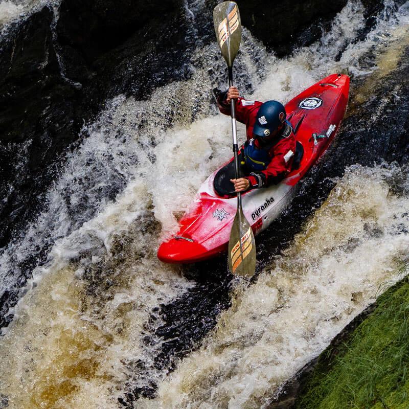 Kayaking with nanopresso