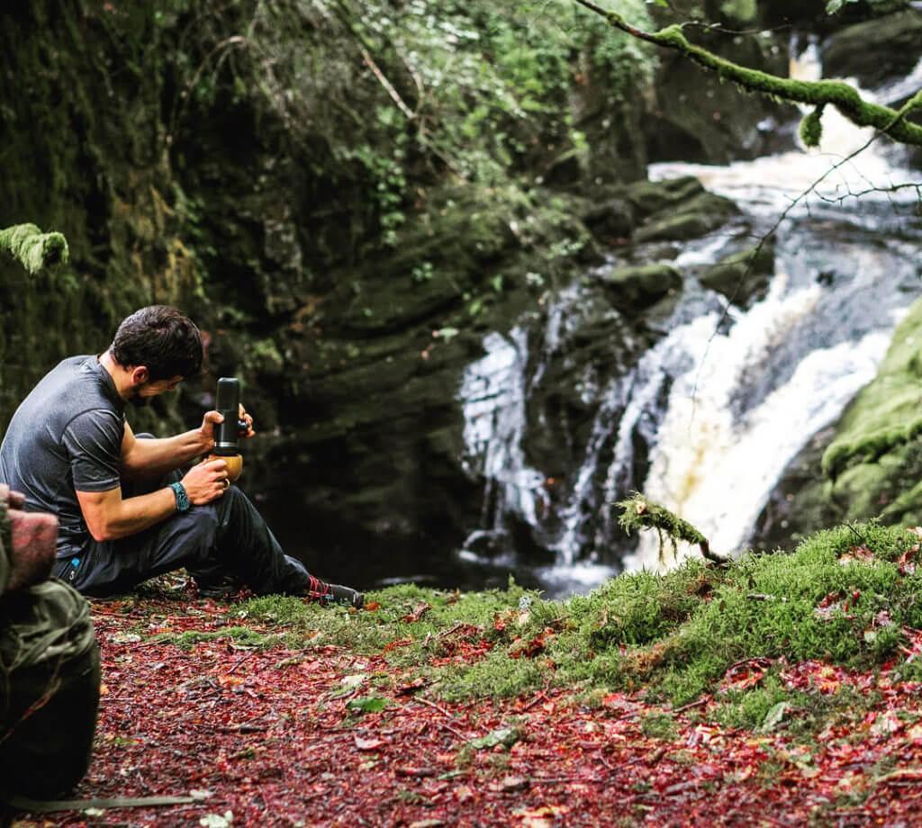 Nanopresso and waterfalls